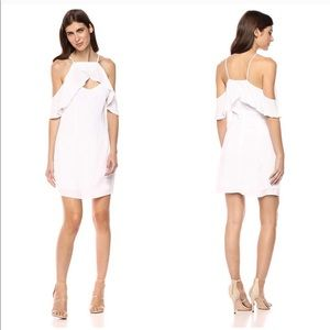 BB Dakota Kaless White Cold Shoulder Dress